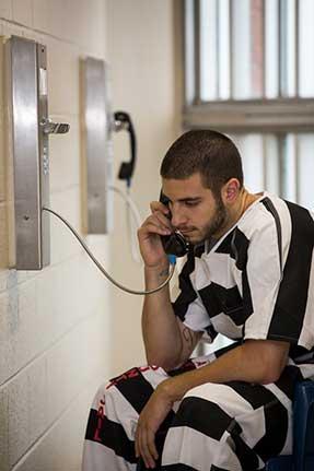 Lafayette Parish Jail phones